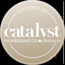 Featured on Catalyst Wedding
