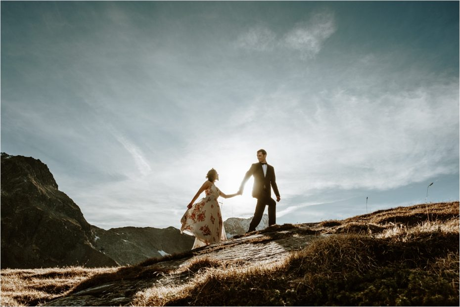 Norway elopement inspiration by Wild Connections Photography