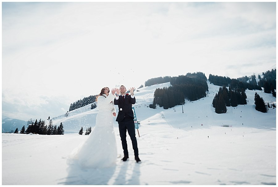 Winter Wedding Austria Ski Resort Wedding