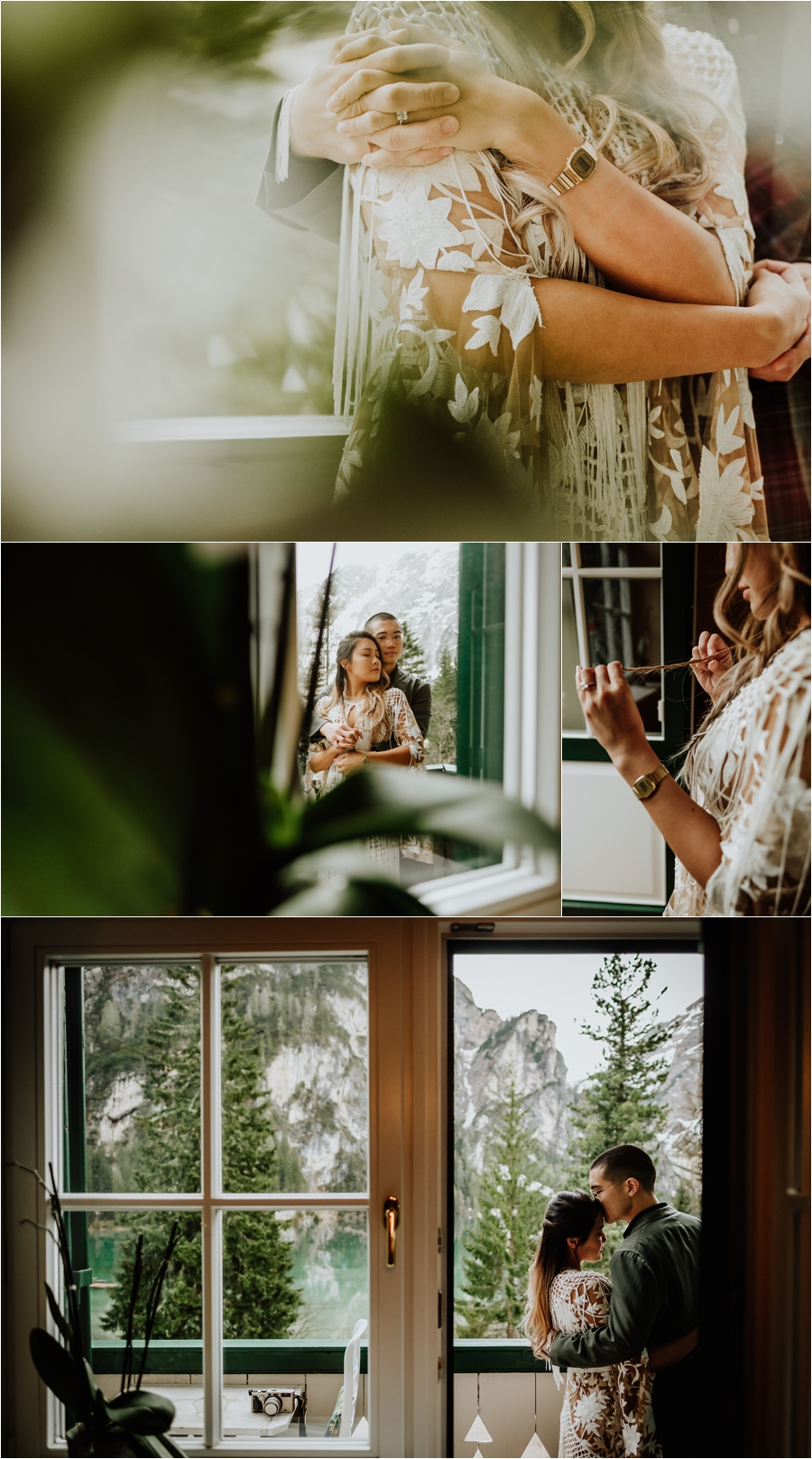 Hotel Pragser Wildsee Lago Di Braies Dolomites Pre_Wedding Engagement shoot by Wild Connections Photography