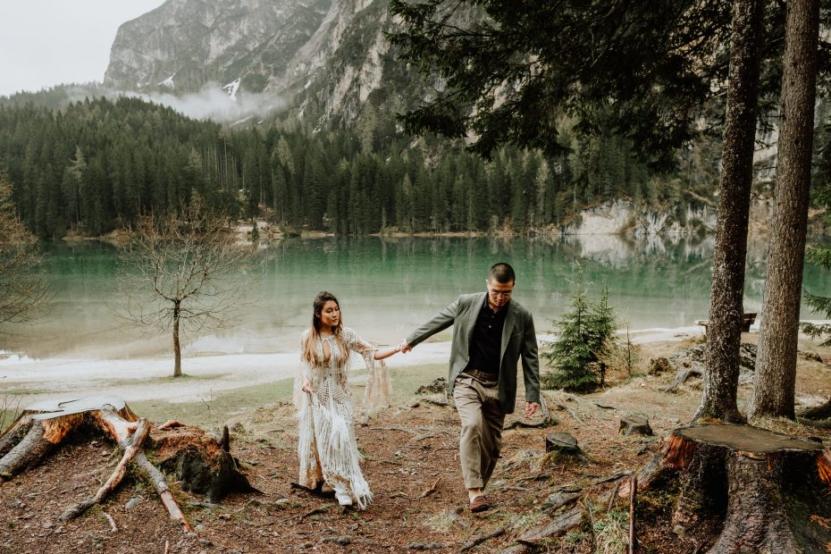 Dolomites elopement by Wild Connections Photography