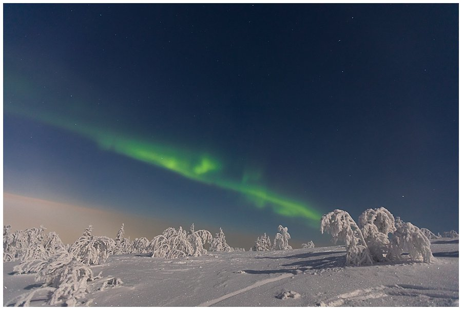 Northern Lights Levi Lapland Ski Tour