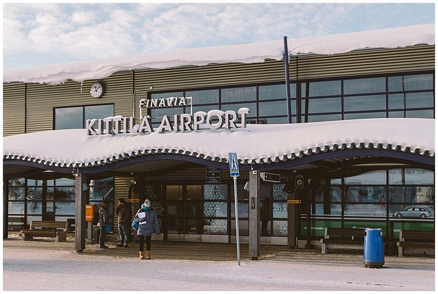 Kittilä Airport Lapland