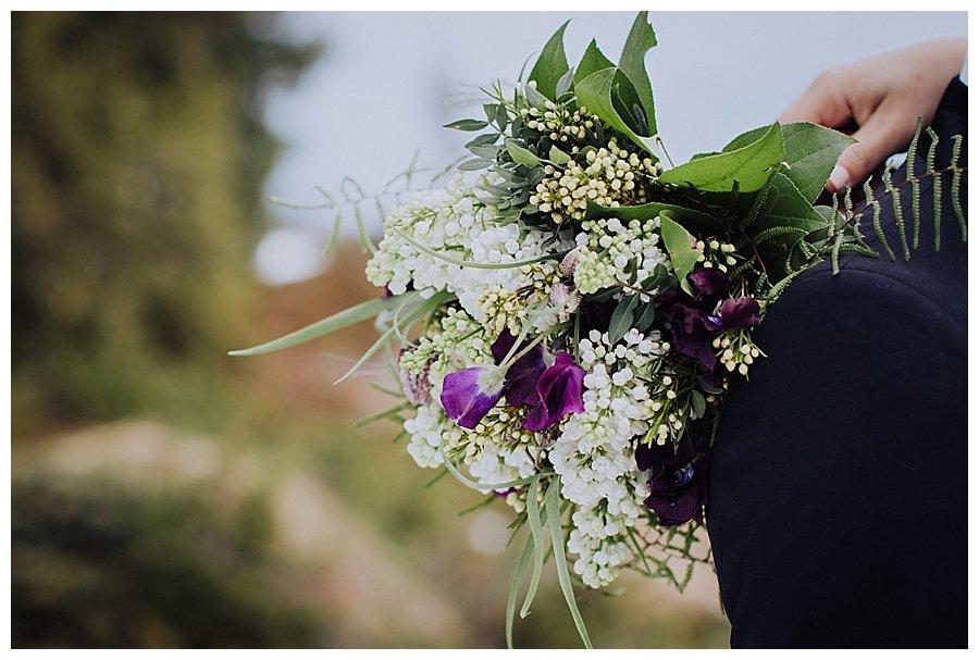 Close up of bouquet made by Blumen Tau in Igls