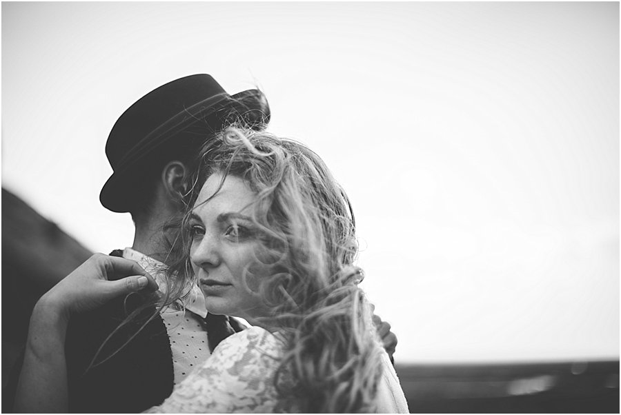 Bride & Groom Embracing - Norfolk Wedding Photographer