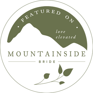 Featured on Mountainside Bride Logo