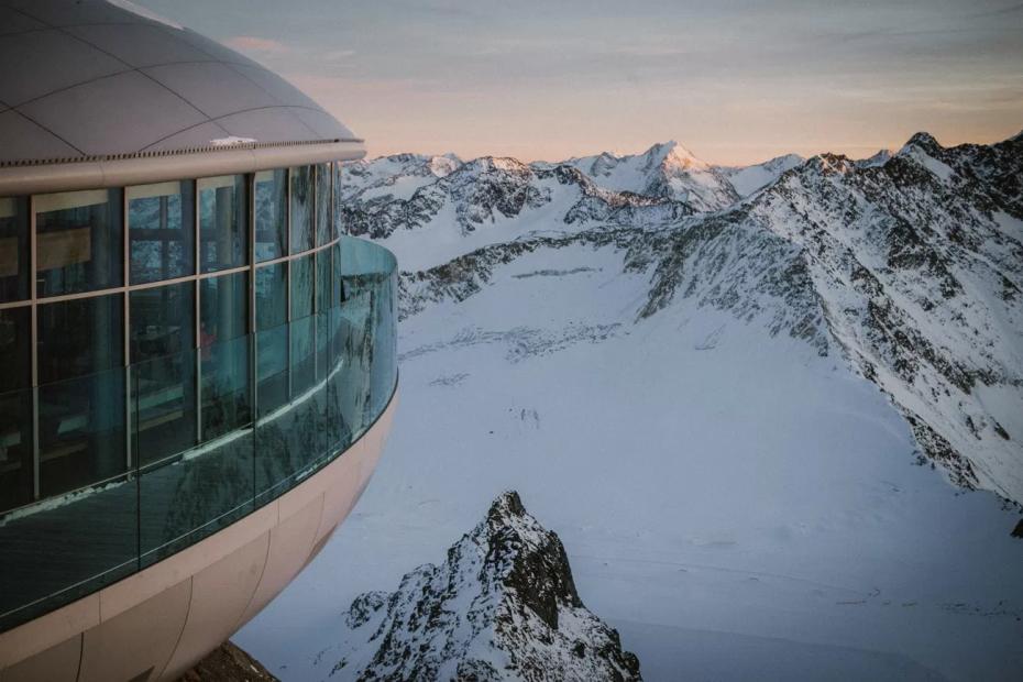 Pitztal Glacier Wedding Location in Austria