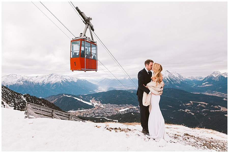 Ski Resort Wedding Austria