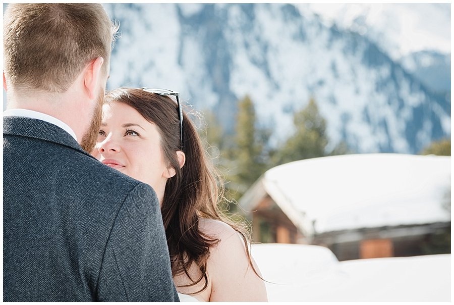 A Winter Ski Chalet Wedding in the Alps