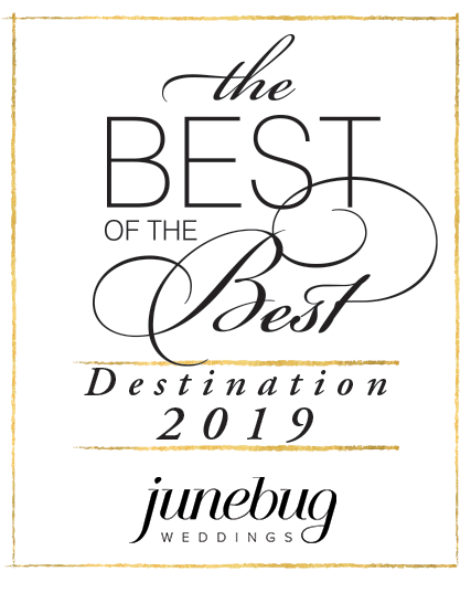 Junebug destination contest winner badge